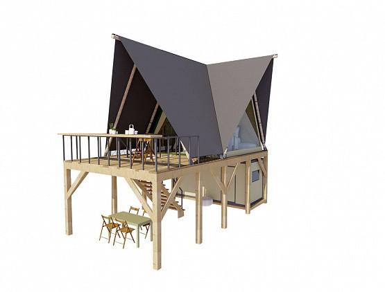 """Палатка """"ПРИЗМА"""" 4х6.2"""