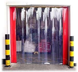 ПВХ шторы для промышленных сооружений