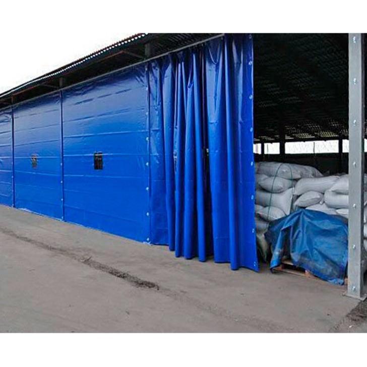 Завеса 3 х 6 м из пвх ( утепленная )
